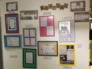 Our Wonderful Writing Wall